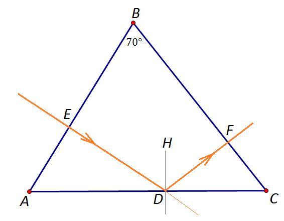 Рисунок четырехугольник в треугольнике