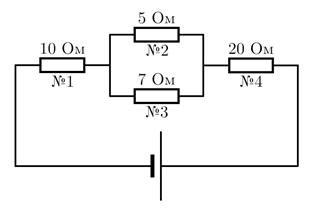 Решение задач по физике на смешанное соединение видеоурок решение задач с помощью системы уравнений
